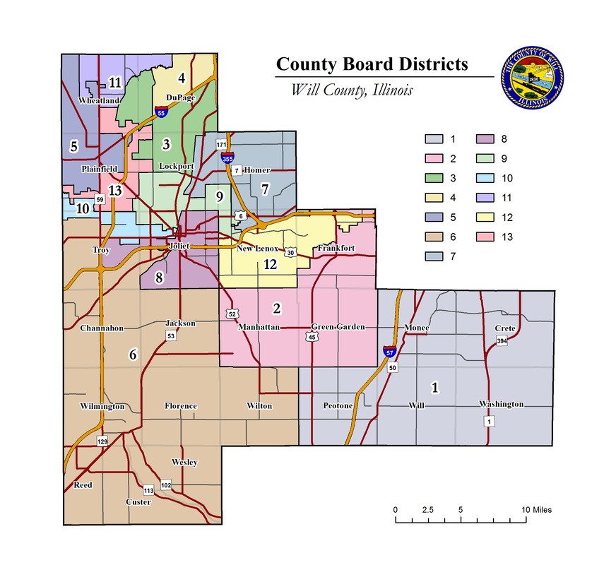 Will County Il Boundary Map Pictures To Pin On Pinterest